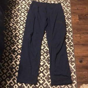 Men's lululemon athletic work khaki pants
